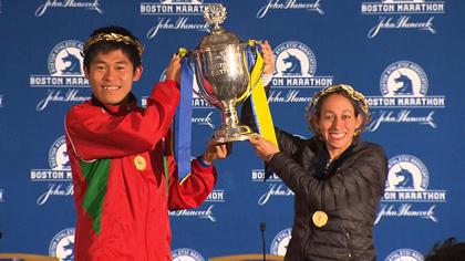 Presentata la  Maratona di Boston con 9 ex campioni