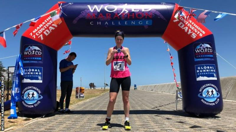 Corre 7 maratone in 7 giorni e vince il World Marathon Challenge