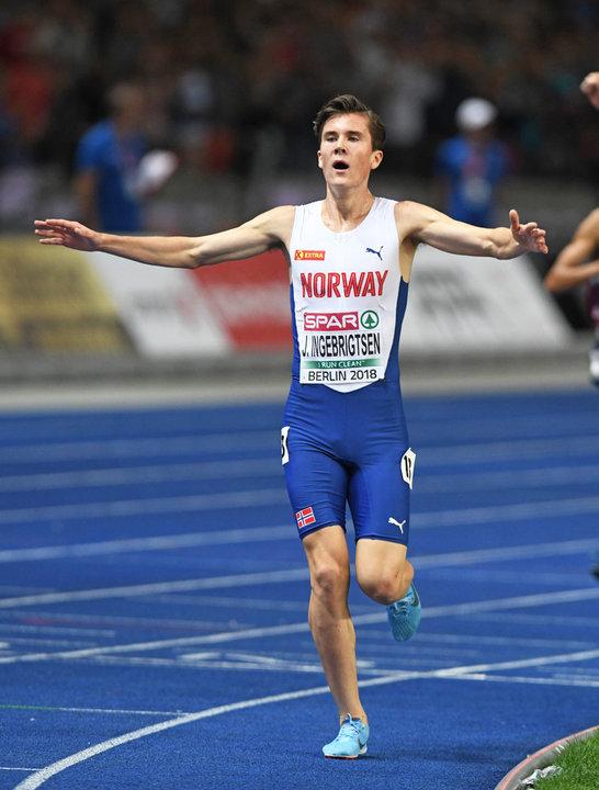 Jakob Ingebrigtsen super a Dusseldorf, PB e battuto Tefera nei 1500 metri