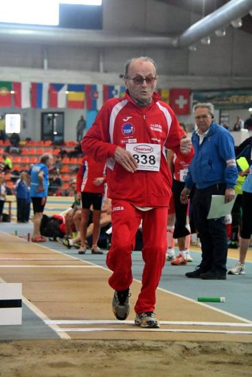 Giuseppe Ottaviani stupisce ancora, a quasi 103 anni vince il lungo ai tricolori master di Ancona