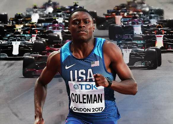 Christian Coleman potrebbe battere una vettura di  Formula 1?