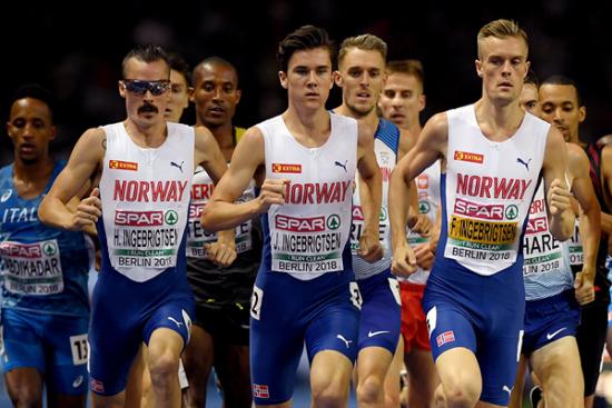 La diretta Streaming con i fratelli Ingebrigtsen dell'ultima tappa dello IAAF World Indoor Tour 2019  a Düsseldorf