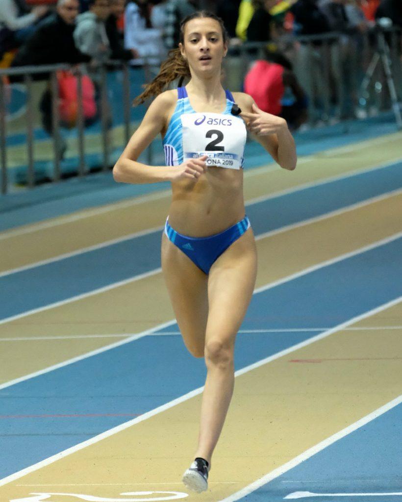 Nadia Battocletti vince alla grande il titolo italiano junior nei 1500 metri