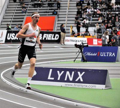 Miglior prestazione mondiale di Hunter nelle 2 miglia ai campionati Usa