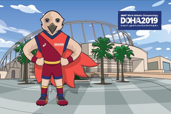 Ecco Falah, la mascotte dei Campionati Mondiali di Doha