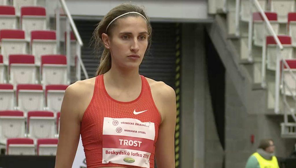 Alessia Trost seconda con lo stagionale uguagliato, terza Vallortigara