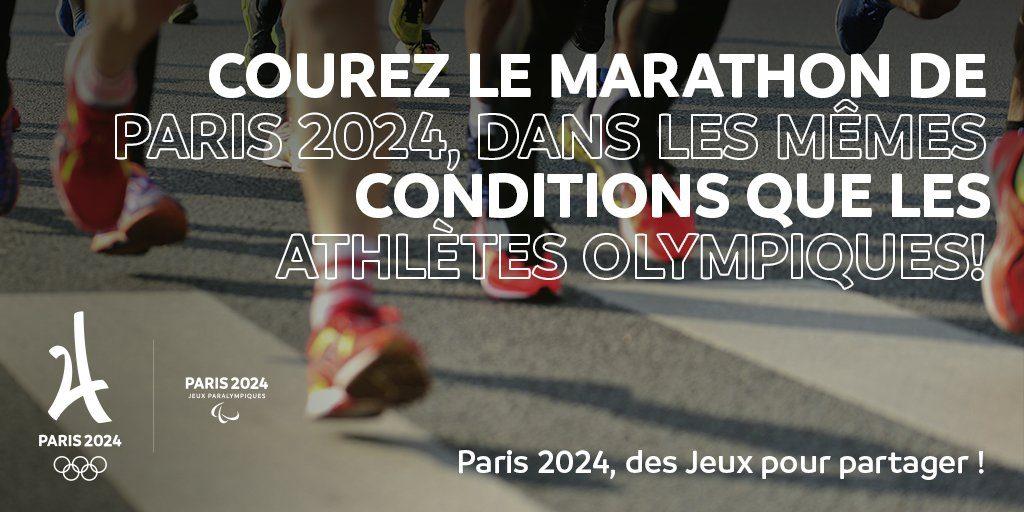 Incredibile, Maratona aperta agli amatori alle Olimpiadi 2024 in Francia