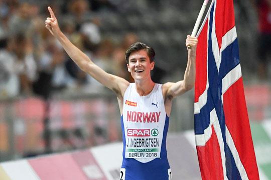 Jakob Ingebrigsten strepitoso record mondiale U20 nei 1500 metri, il video