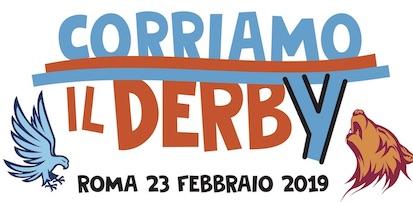 Logo CORRIAMO il DERBY 2019