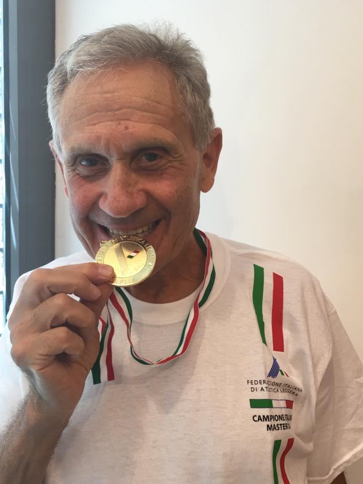 Marcia Master Ancona: Pelliccia a 82 anni vince il suo centesimo titolo italiano