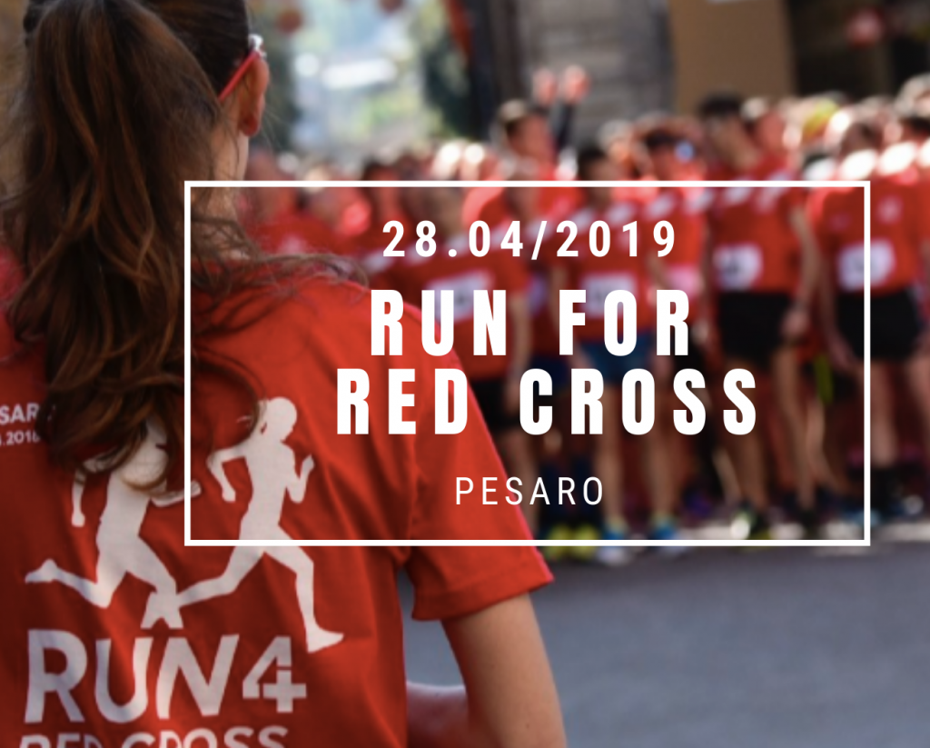 RUN for RED CROSS, il 28 Aprile la 10km di Pesaro