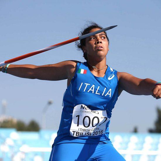 Carolina Visca vince il titolo nel giavellotto a Lucca con lo stagionale