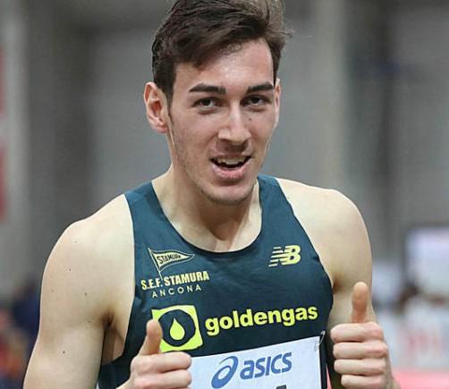 Simone Barontini conquista il terzo tricolore negli 800 metri nella sua Ancona