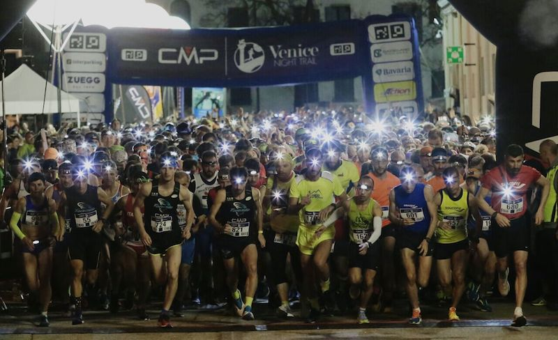 Il CMP Venice Night Trail è già sold out!