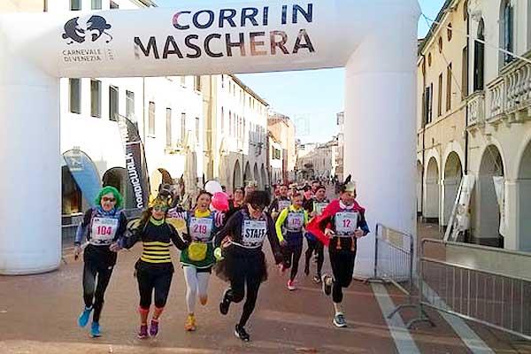 "A Carnevale si va di corsa con"" Alì Corri in Maschera"" di Mestre"
