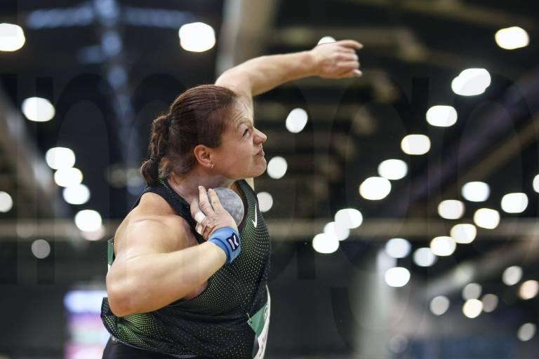 Christina Schwanitz vince il World Indoor Tour con la vittoria a Dusseldorf nel getto del peso