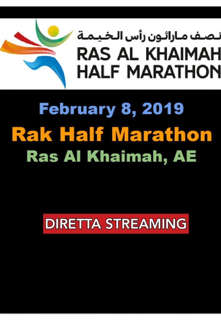 Torna la mezza maratona più veloce al mondo di Ras Al Khaimah! Lo straordinario lotto di iscritti