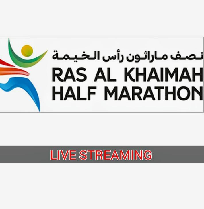 Stanotte grande spettacolo con la Mezza maratona più veloce del mondo negli Emirati Arabi Uniti- IL LIVE