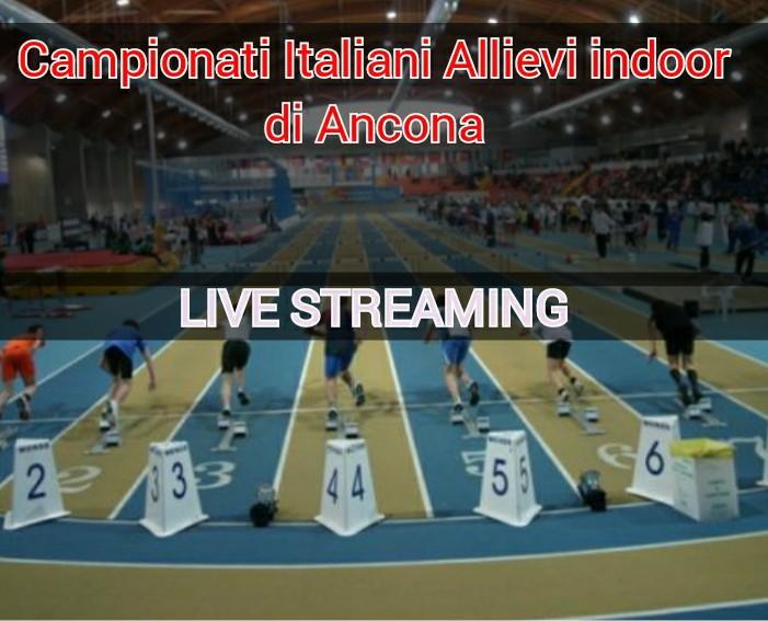 Tricolori Ancona Allievi: lo STREAMING della seconda giornata