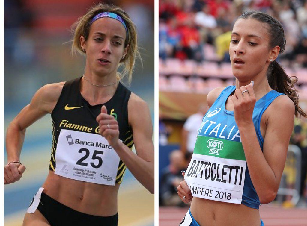 Nadia Bartoletti record italiano U20 nei 3000 metri  vinti in solitario da Margherita Magnani