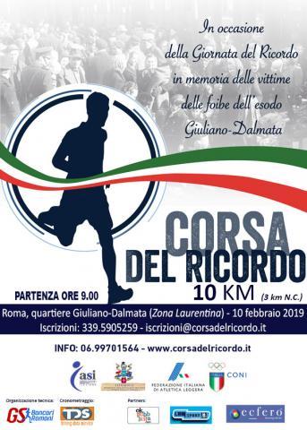 Corsa del Ricordo 6^ edizione: c'è anche il Trofeo di marcia in onore di  Abdon Pamich