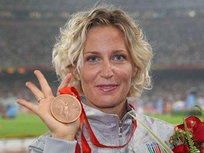 """Marcia: l""""azzurra Rigaudo prenderà l'argento dei mondiali 2011"""