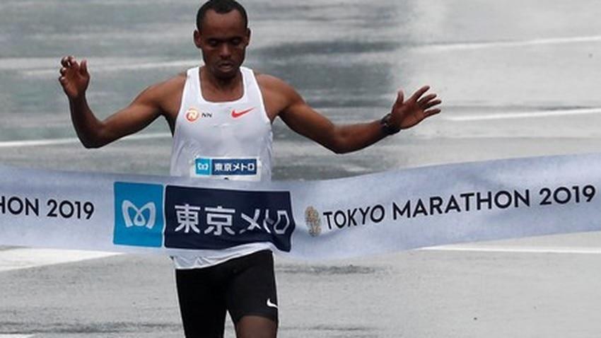 Risultati Maratona di Tokyo: solita doppietta etiope, Legese vince in 2h04