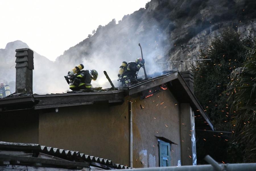 In fiamme la casa dell'ex campione di salto con l'asta Renato Dionisi