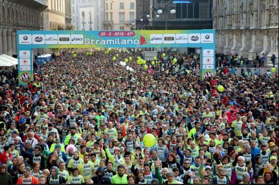 Dramma alla Stramilano, runner cinquantenne  colpito da infarto è grave