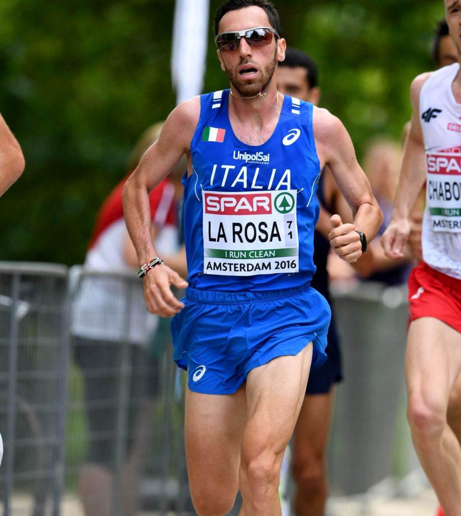 Stefano La Rosa gareggerà nella Milano Marathon 2019