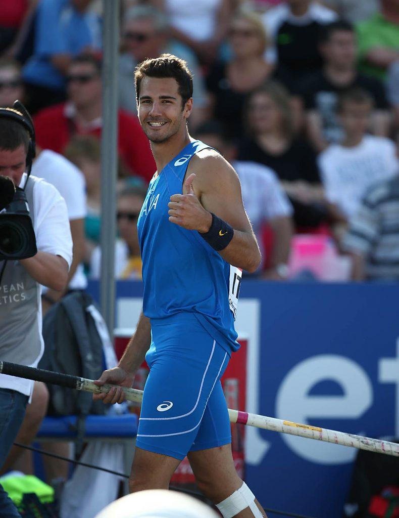 Un super Claudio Stecchi sfiora il bronzo nell'asta agli Europei di Glasgow