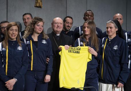 L' Athletica Vaticana vince la sua prima gara di corsa su strada