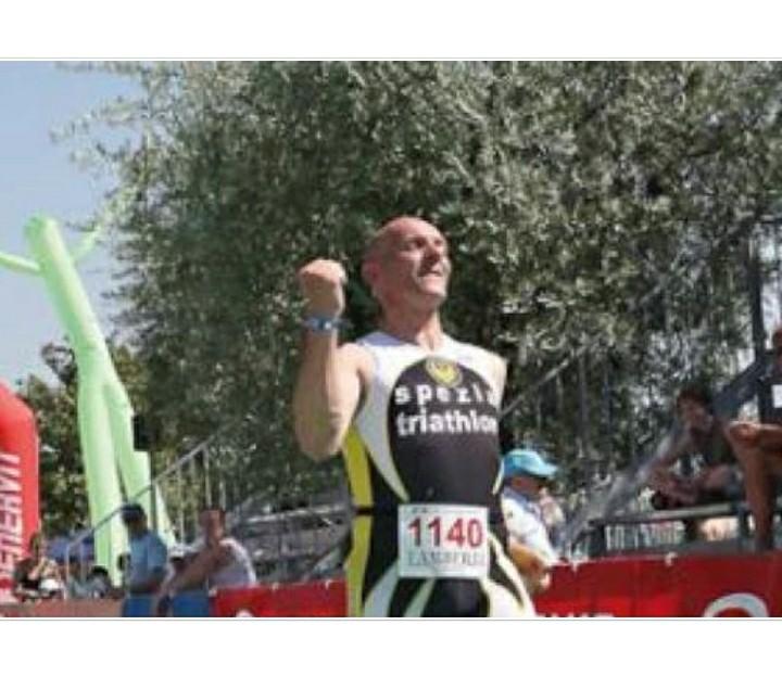 """Il  grande esempio di Fabrizio Vignali, da 13 anni combatte un male, """"Mai mollare"""""""