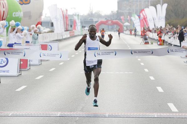 Doppietta keniana con  Masai e  Kipkoech alla mezza maratona di Varsavia