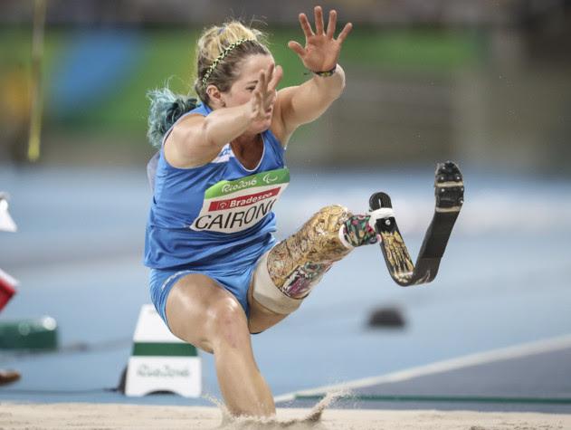 Tricolori paralimpici: Martina Caironi record italiano nel lungo