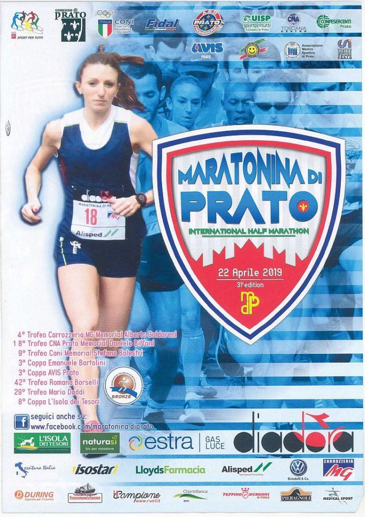 Domani la 31° edizione della Maratonina Città di Prato di Pasquetta