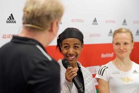 Sifan Hassan a caccia del record mondiale alla BERLIN HALF MARATHON di domenica- Live streaming