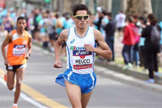 Milano 19/03/2017 Stramilano Half Marathon2017 Nella foto: Daniele Meucci - foto di Giancarlo Colombo/A.G.Giancarlo Colombo