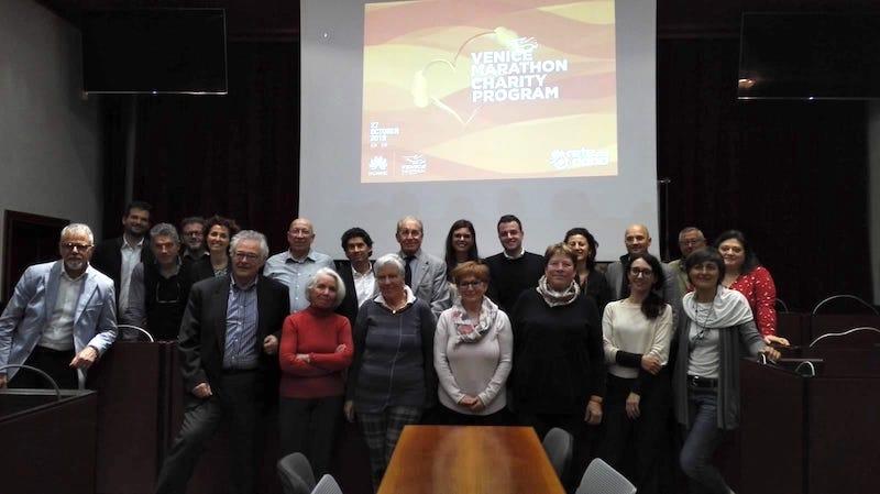 Presentata la raccolta record del Huawei Venicemarathon Charity Program