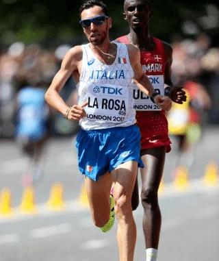 LIVE la Milano Marathon con Stefano La Rosa