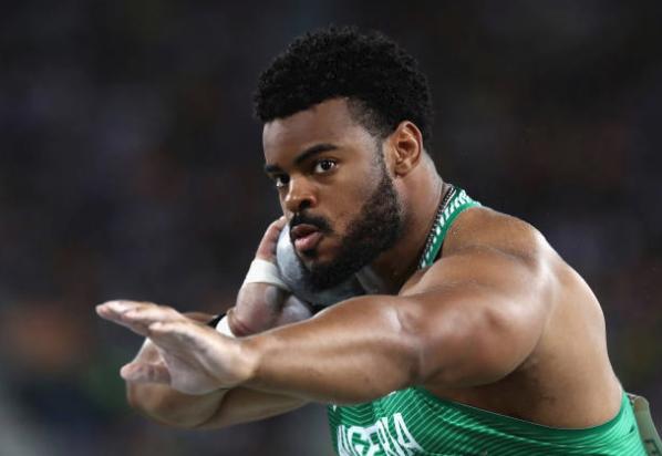 Un lanciatore dì peso nigeriano batte il Record alla IAAF World Challenge