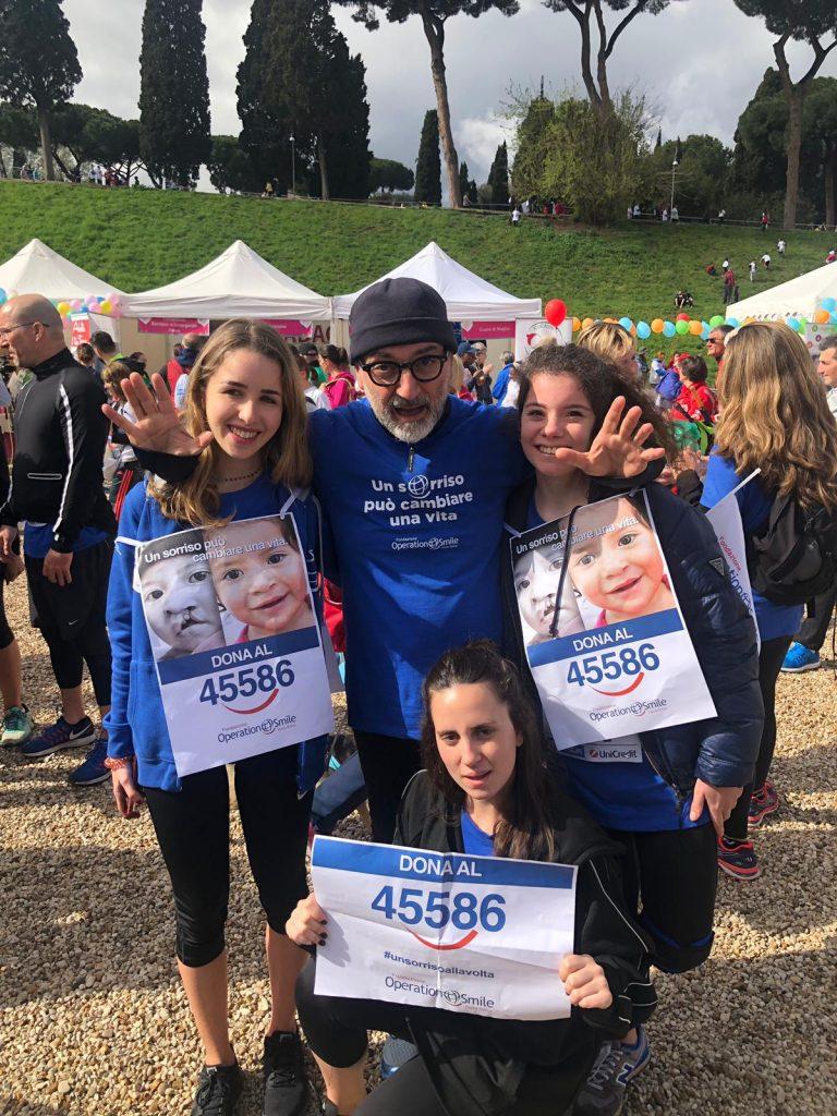 """Successo per """"Run for Smile"""", corsa non competitivapromossa dalla Fondazione Operation Smile Italia Onlus"""