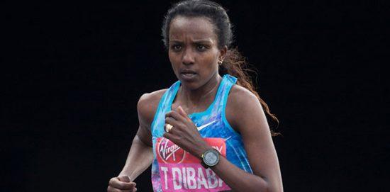 Tirunesh Dibaba rinuncia alla Maratona di Londra