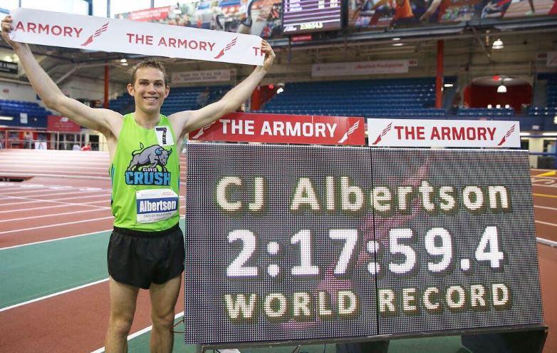 Cade il Record del Mondo della Maratona...Indoor!