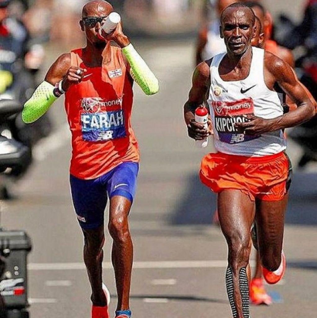 Kipchoge vs Farah, la storica sfida della Maratona di Londra