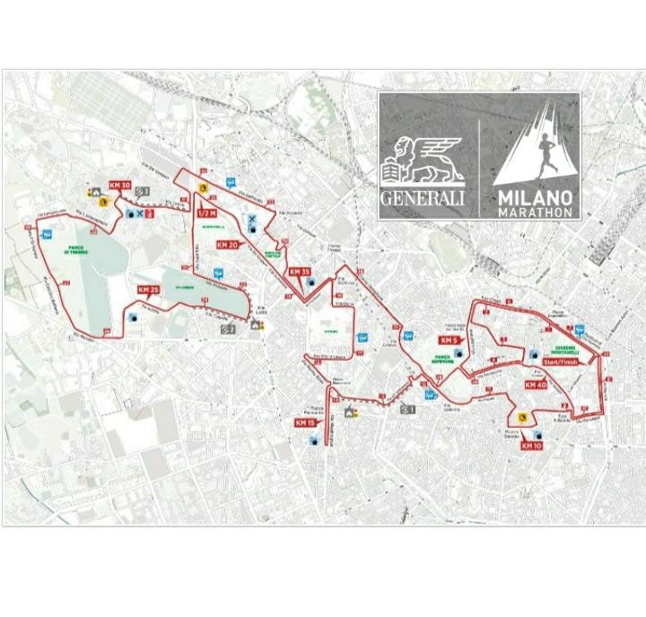 Maratona di Milano: ecco il percorso