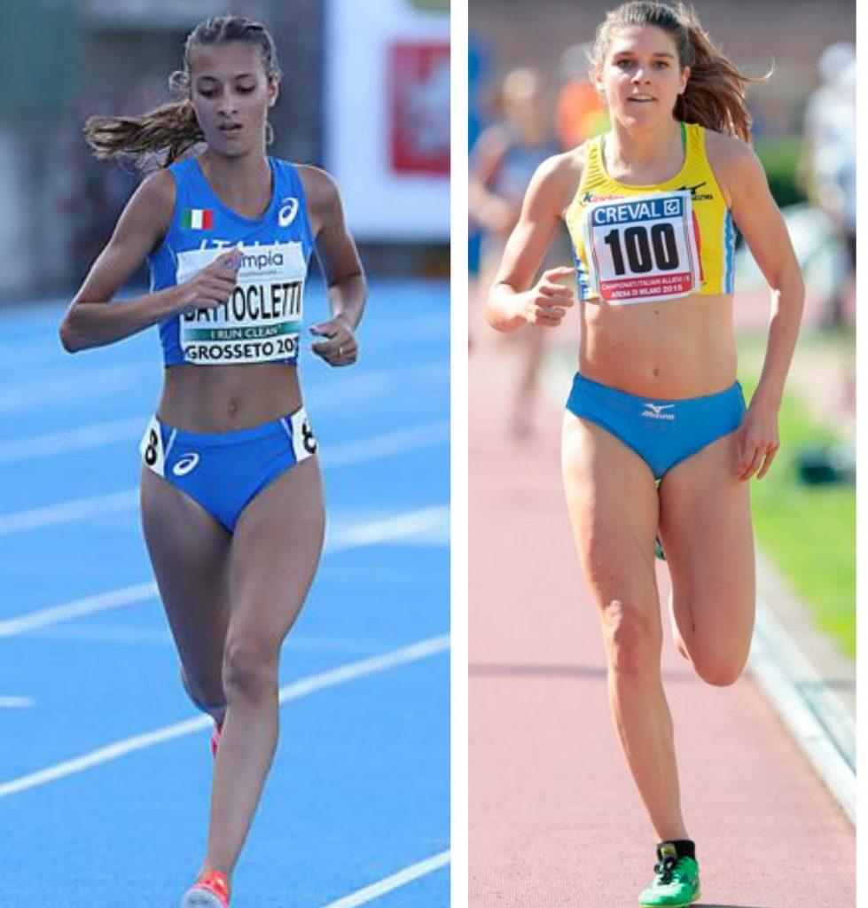 """Nadia Bartoletti e Marta Zenoni in gara venerdì nella """"notte delle stelle"""" a Milano"""