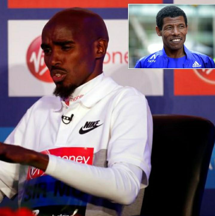 Mo Farah si scaglia contro Haile Gebrselassie nel corso della conferenza stampa della Maratona di Londra