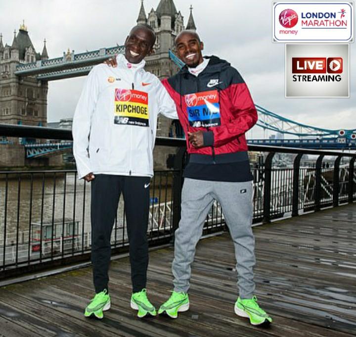 Oggi la diretta della Maratona di Londra con aggiornamenti in tempo reale