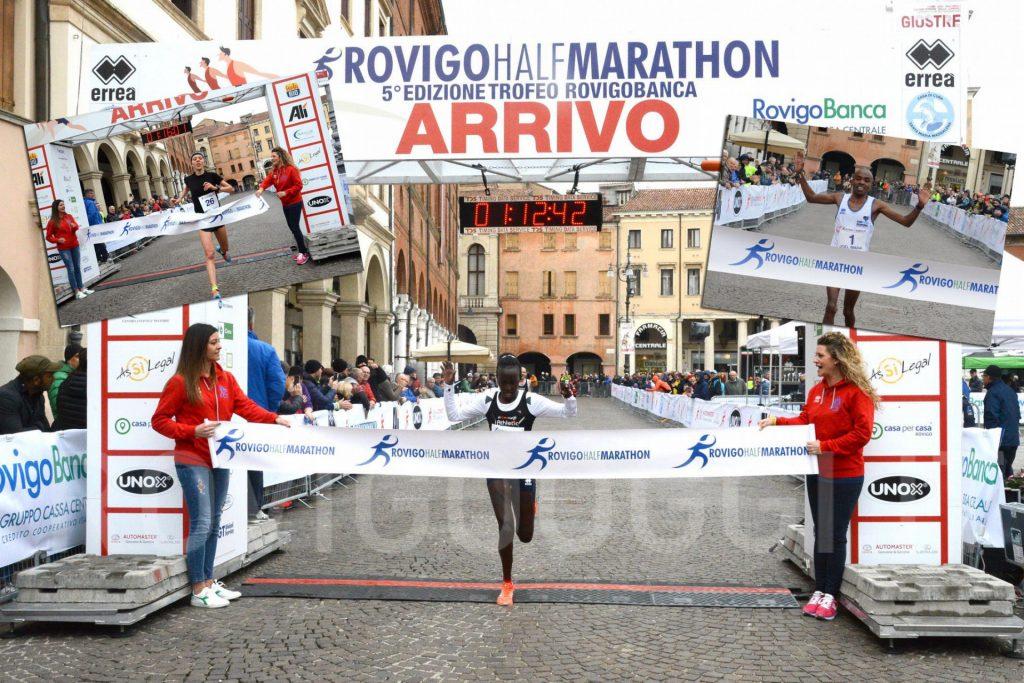 Risultati Rovigo Half Marathon, vincono  Mwangi e Jeruto , terza Federica Zenoni